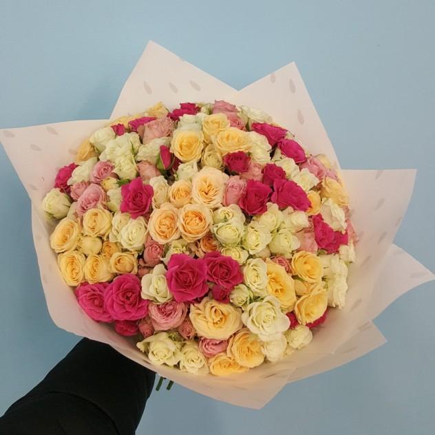 41 веточная роза